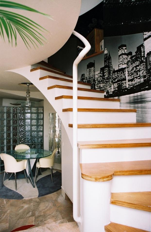 Appartement en duplex charenton le pont val de marne - Appartement en duplex abraham architects ...