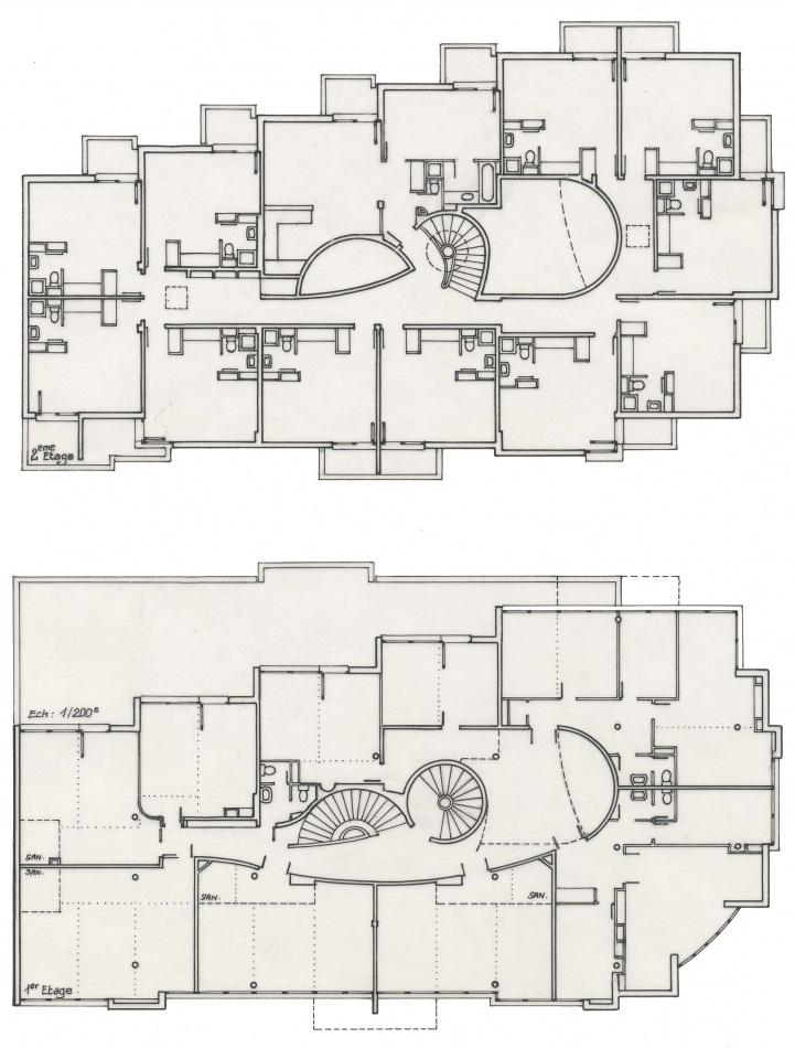 Immeuble trio metz moselle denis humbert for Immeuble bureau plan